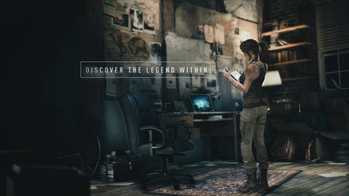 Rise Of The Tomb Raider Office Wallpaper By Luzvictor On Deviantart
