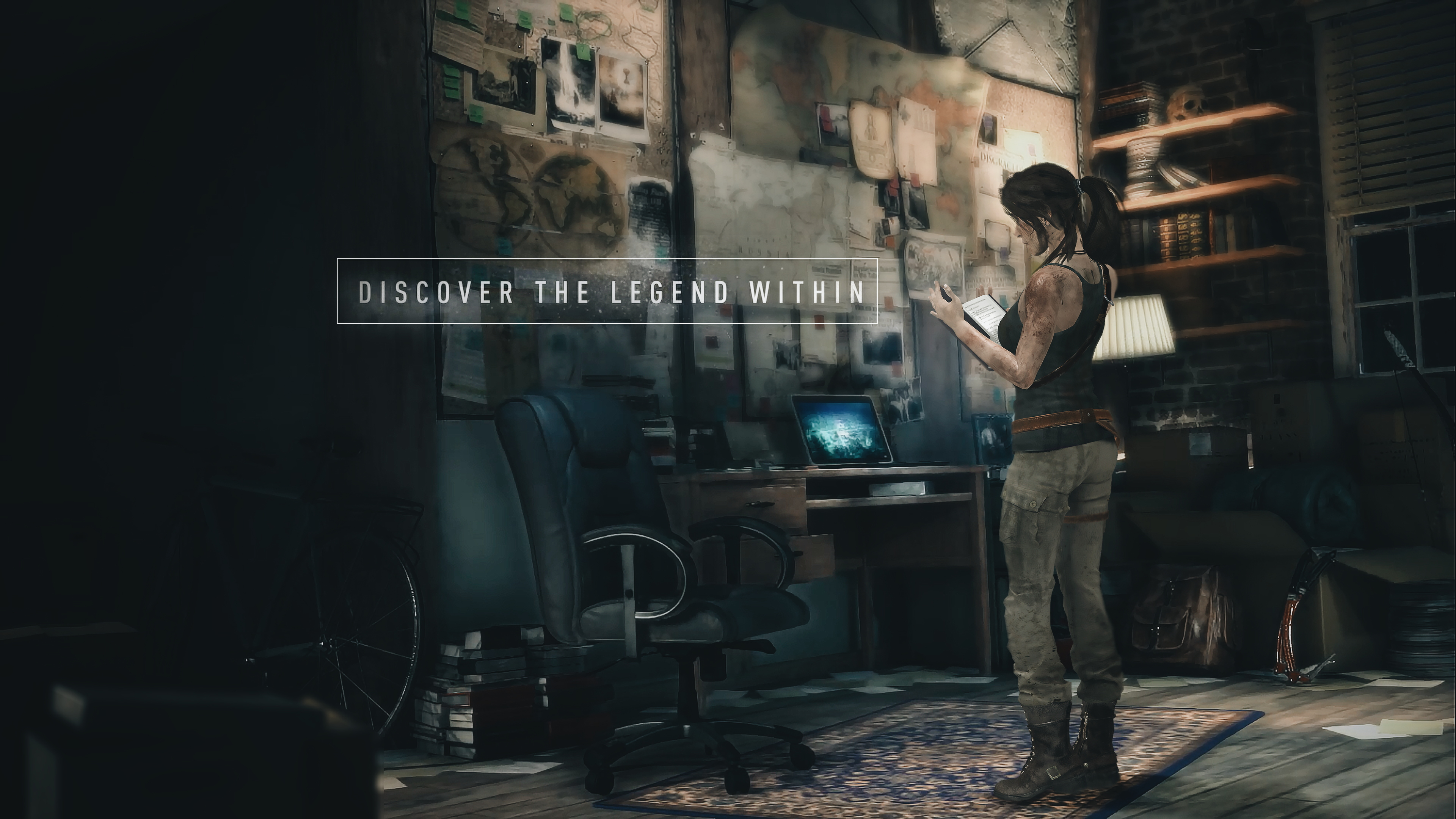 Rise Of The Tomb Raider Office Wallpaper By Luzvictor
