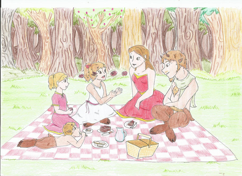 tCoN - Family picknick by Linadoon