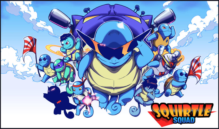 Squirtle Squad Squirtle_squad_by_beatboxsamurai-d5e4z67