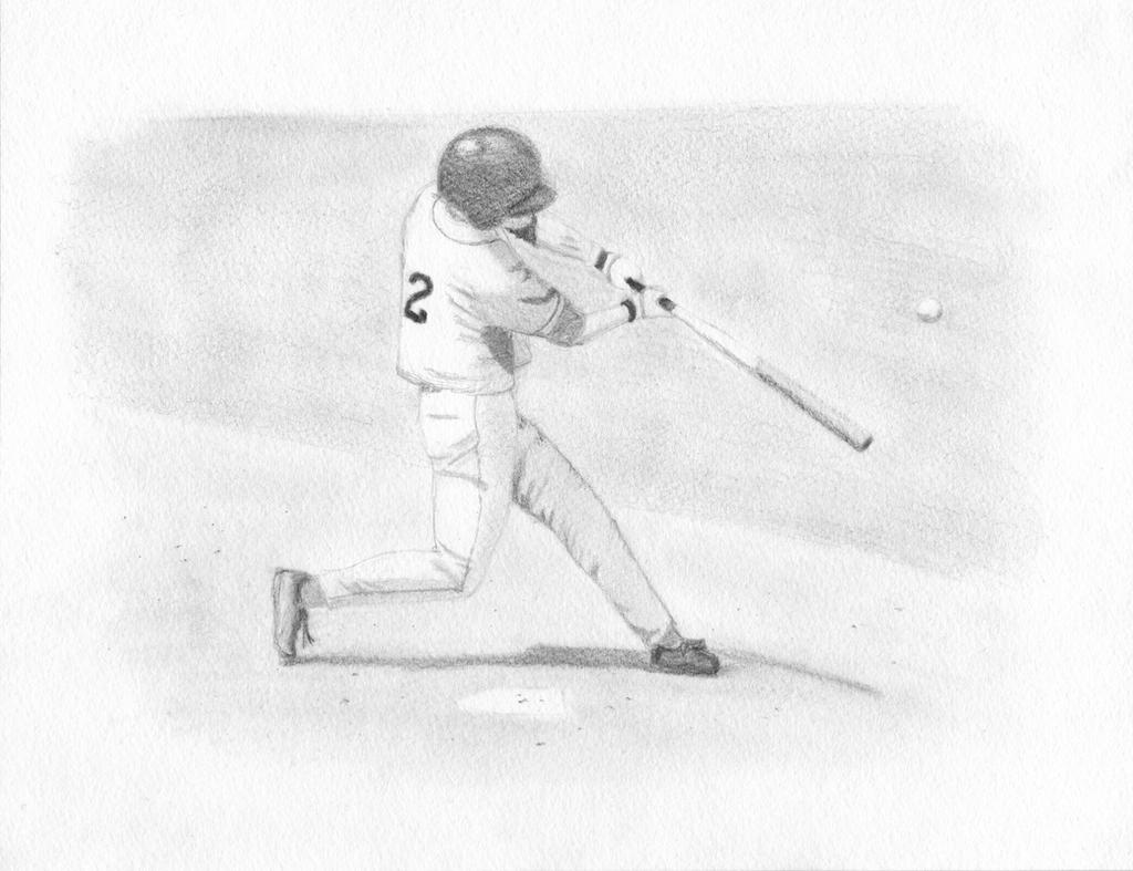 Baseball Player Sketch By Jhrkirby On Deviantart