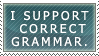 Correct Grammar by Red-Bananas by GrammarNazisUnited
