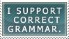 Correct Grammar by Red-Bananas by GrammarNazisUnited