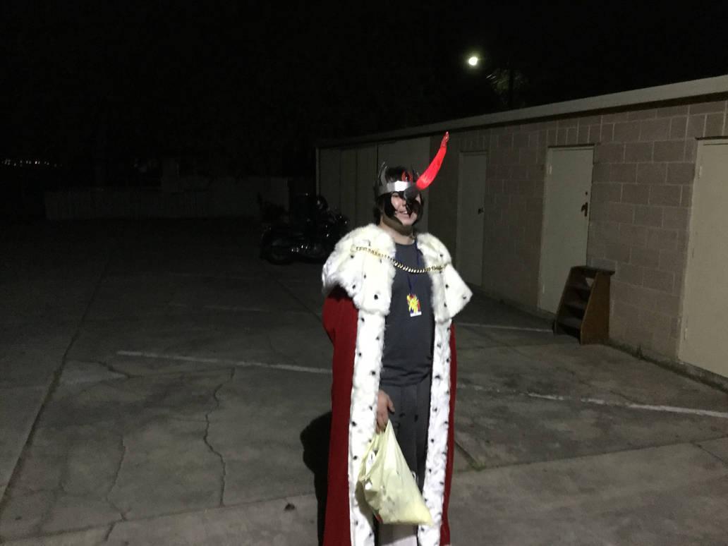 King Sombra cosplay by PriusBurner
