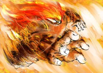 Okra, The Demon Saiyan