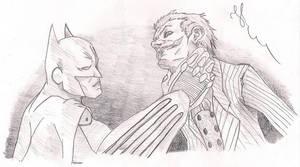 Batman and Joker - Draw 2