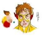 Kid Flash - Color Test I