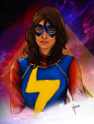 Kamala Khan, Ms. Marvel - COLORED