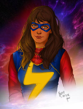 Kamala Khan, Ms. Marvel - 2018, Colored