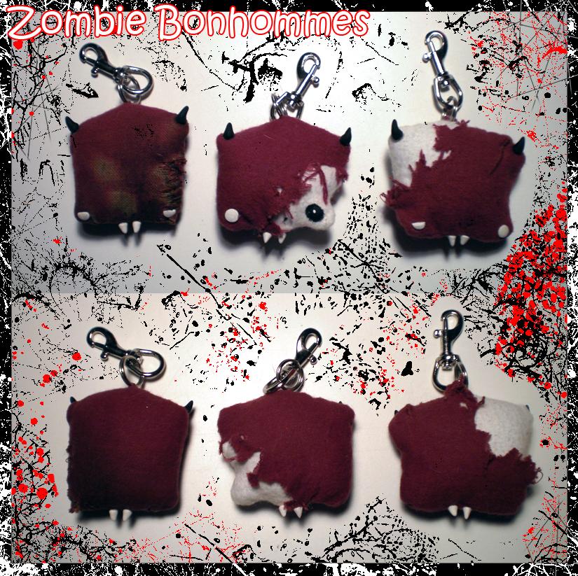 Zombie Bonhommes by Lunnie