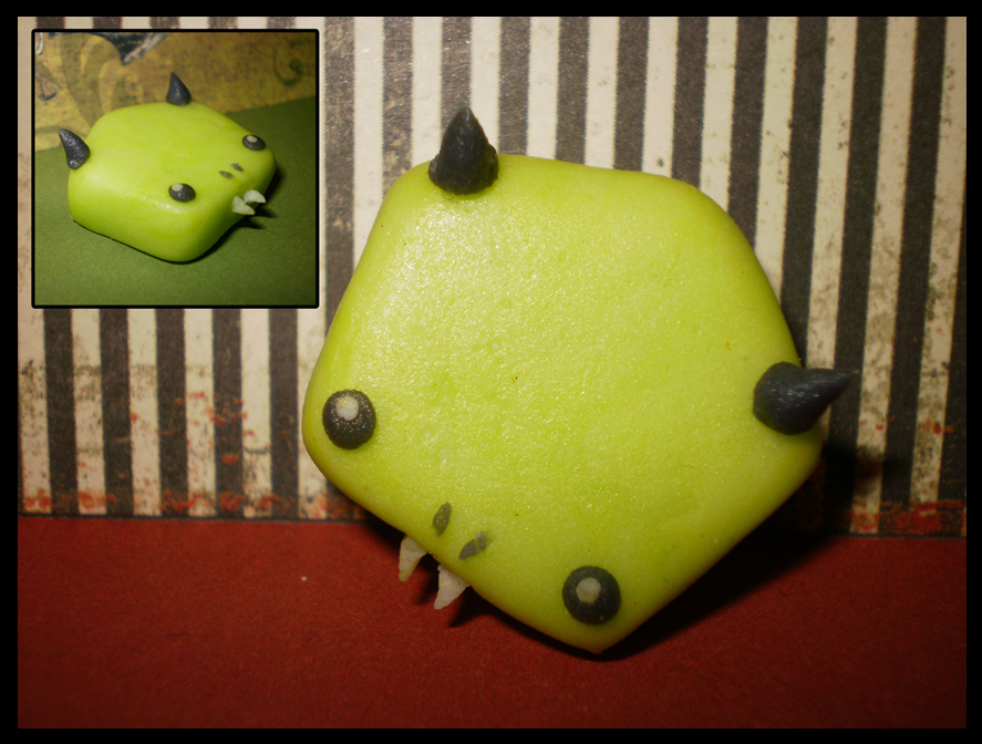 Lime Green Bonhomme Candy by Lunnie