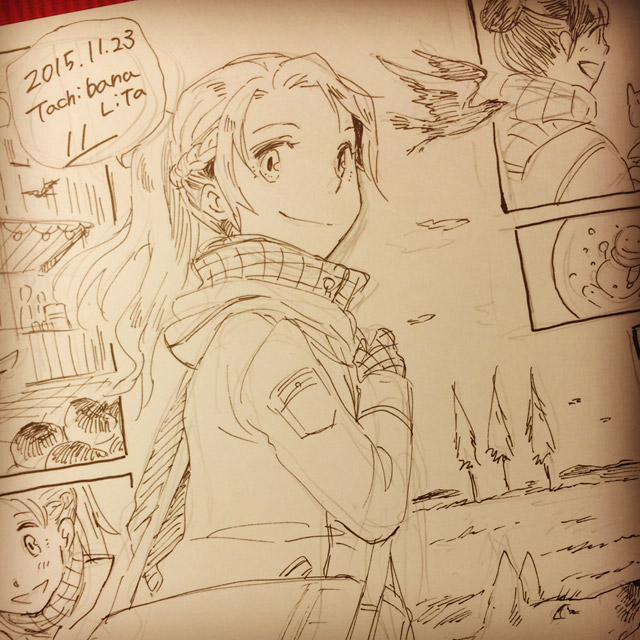 A part of WIP 'Siera's journey' by lita426t
