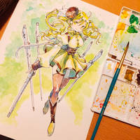 Mami Tomoe / Madoka Magica Requested by Jonathan by lita426t