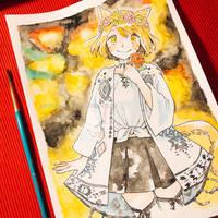 Commission art for Alma-san