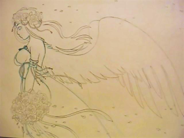 Angel bride by EmmaMcAuslin666