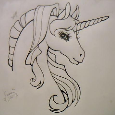 Unicorn tattoo idea by EmmaMcAuslin666