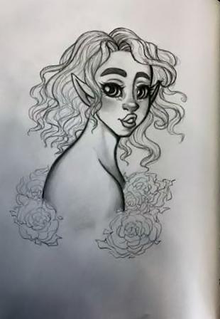 Elf Girl by EmmaMcAuslin666