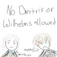 No Antagonists Allowed by yzak