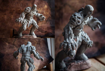 War from Darksiders, figure made by me by Vasya-chan