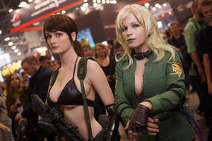 Metal Gear Cosplay, Quiet and Sniper Wolf