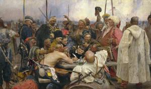 Ilja Jefimowitsch Repin - Reply of the Zaporozhian