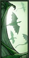 Dragon Flight Bookmark