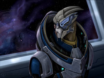 Mass Effect: Garrus by Nightlyre