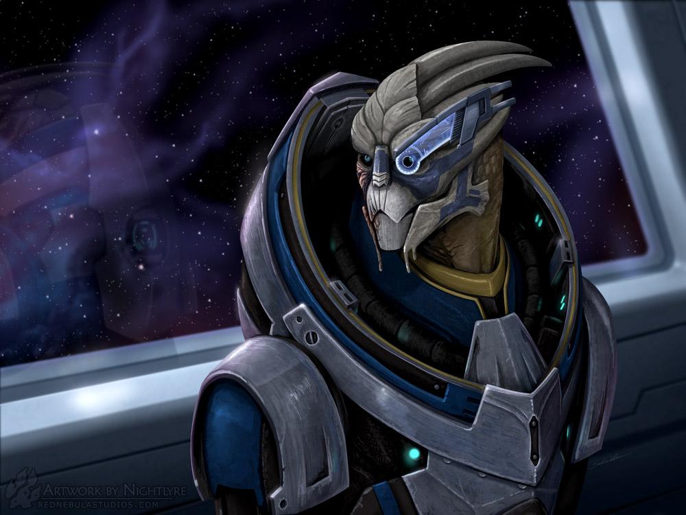 Mass Effect: Garrus by Nightlyre