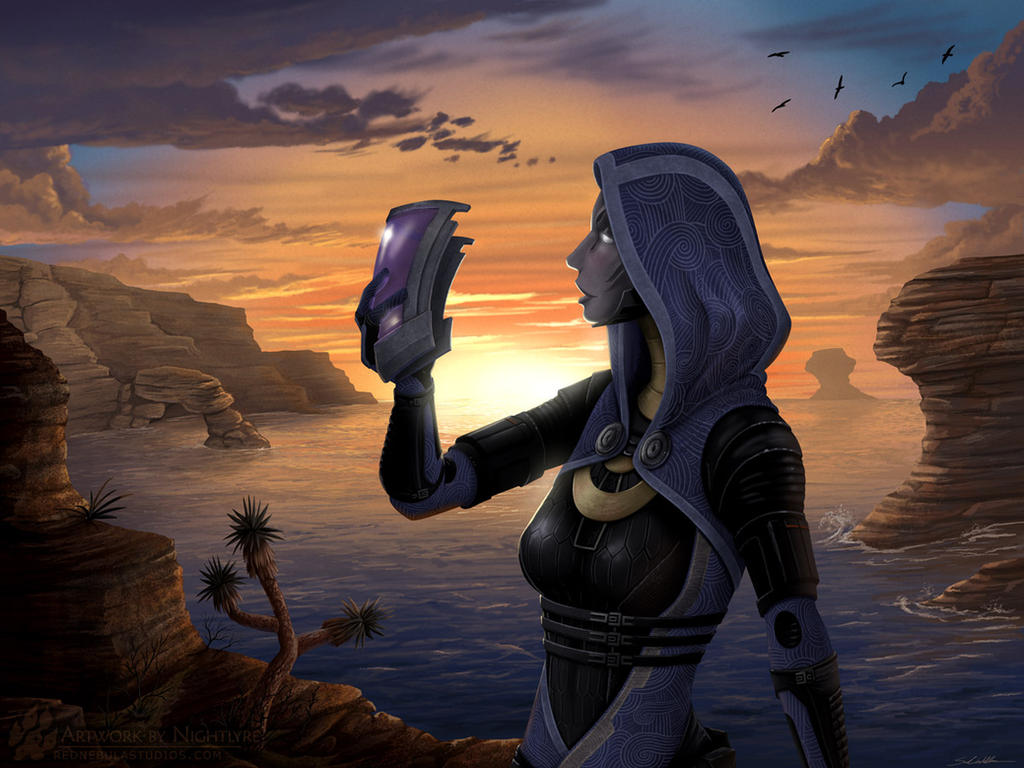 Mass Effect: Tali'Zorah by Nightlyre