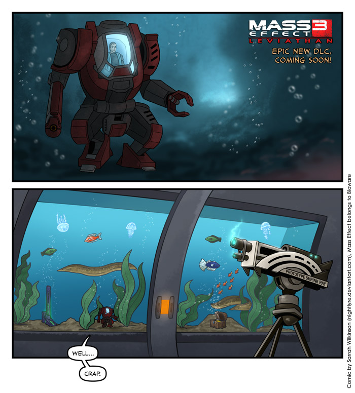 Mass Effect 3: Leviathan Plot? by Nightlyre