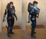 Mass Effect 3 - Garrus Armor, mostly complete