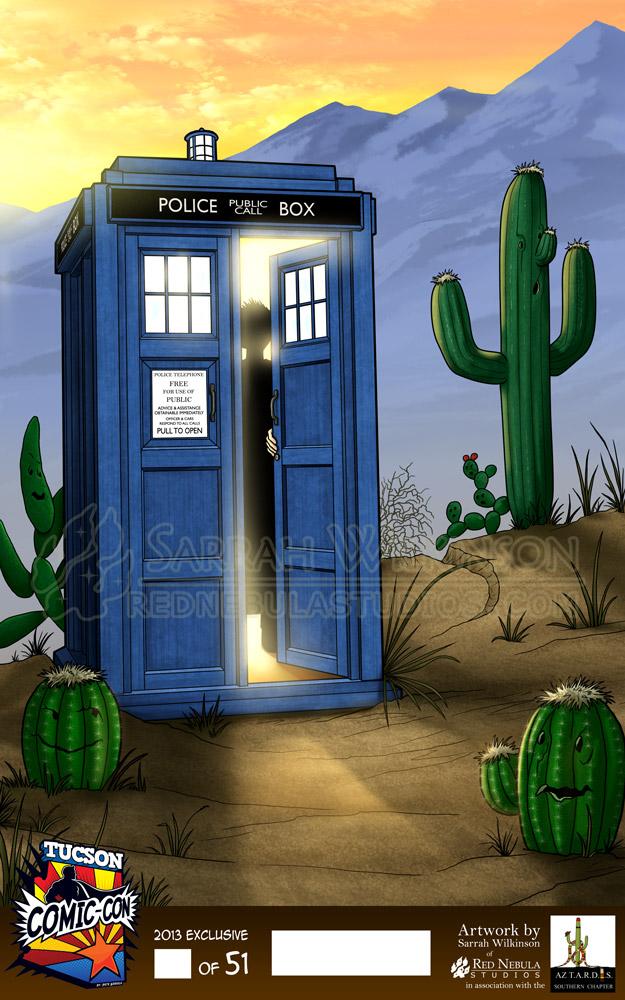 2013 Tucson TARDIS by Nightlyre