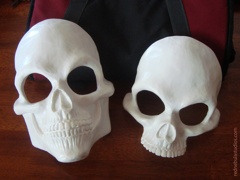 Human Skull Full and Half Mask Blanks by Nightlyre on ...