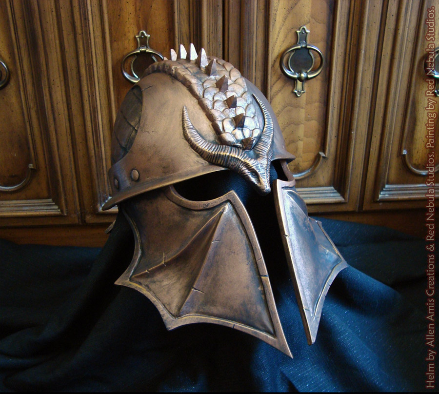 Fresh DA:I Inquisitor Helm, Bronze Finish by Nightlyre on DeviantArt PJ41