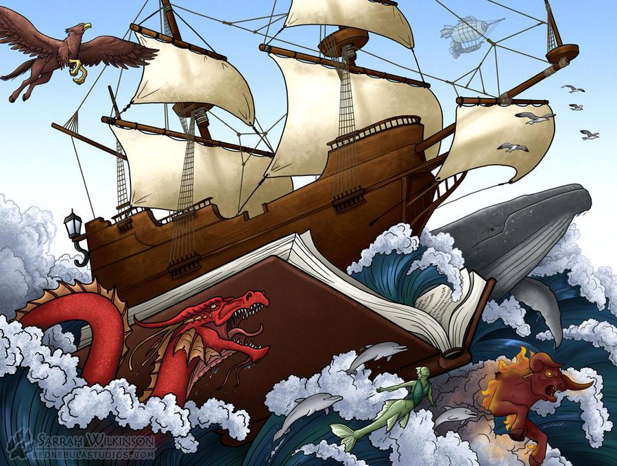 The Seas of Imagination - 2016 KNTR Calendar by Nightlyre