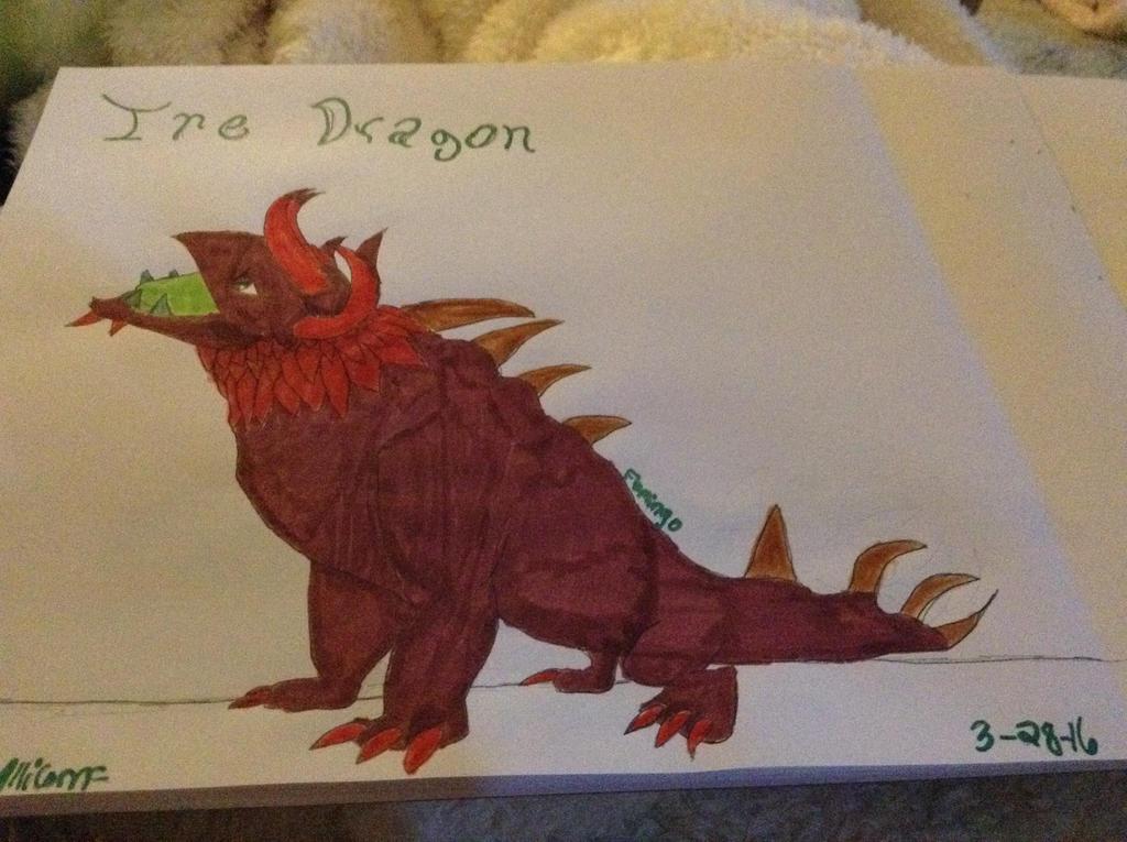 Ire Dragon - DragonVale by FlamingGatorGirl