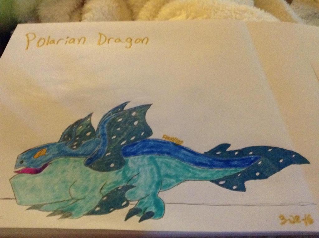 Polarian Dragon - DragonVale by FlamingGatorGirl