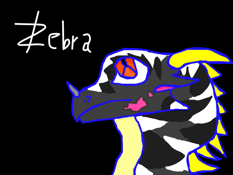Zebra by FlamingGatorGirl