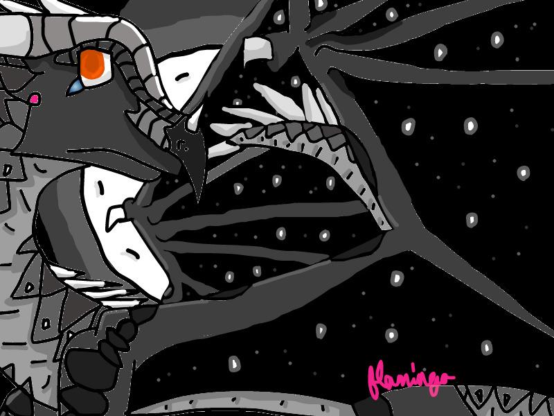 Moonhunter the NightWing by FlamingGatorGirl