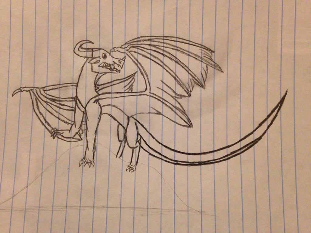Random Dragon by FlamingGatorGirl