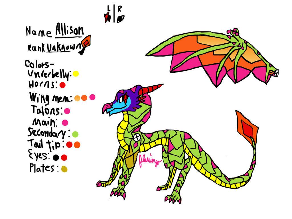Allison Digital Reference by FlamingGatorGirl