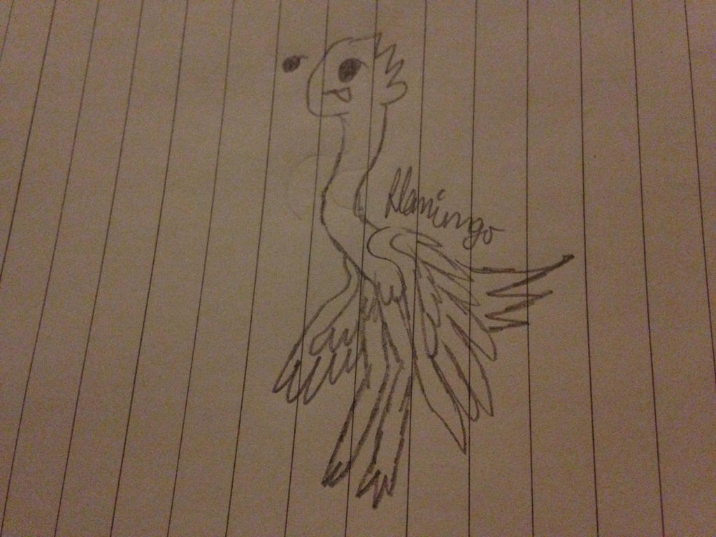 Derpy Emu by FlamingGatorGirl