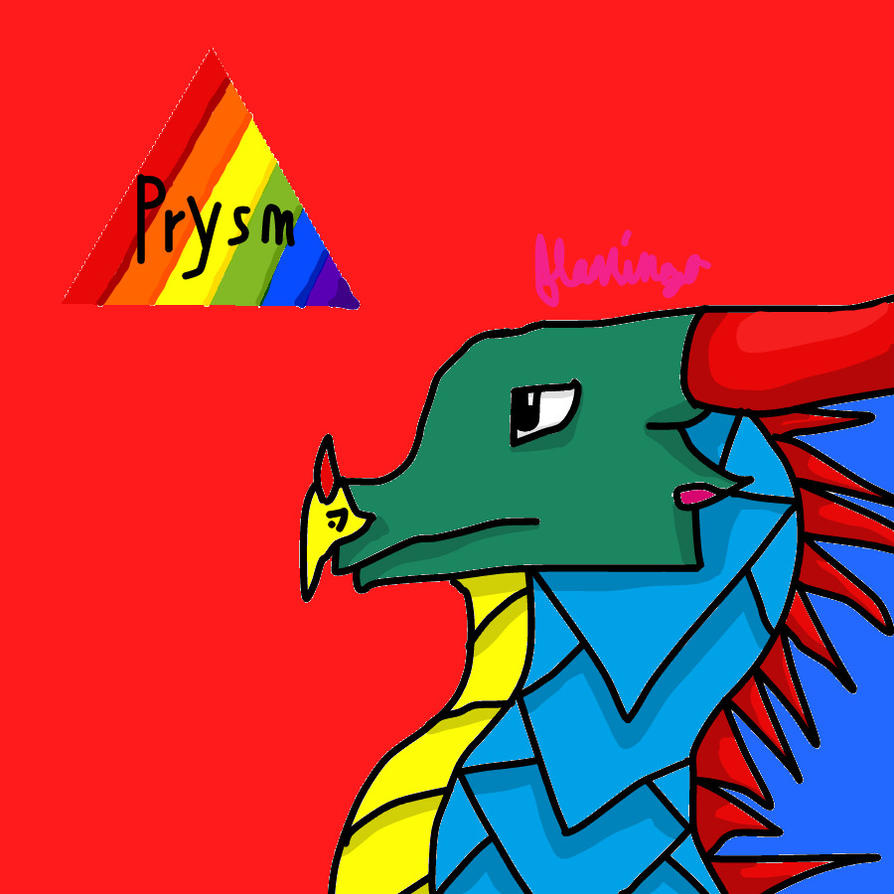 Prysm the Sky/SeaWing by FlamingGatorGirl