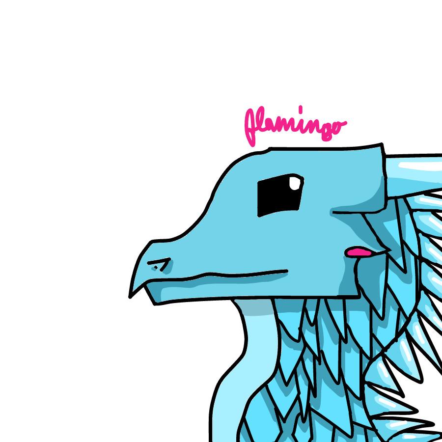 Random IceWing by FlamingGatorGirl