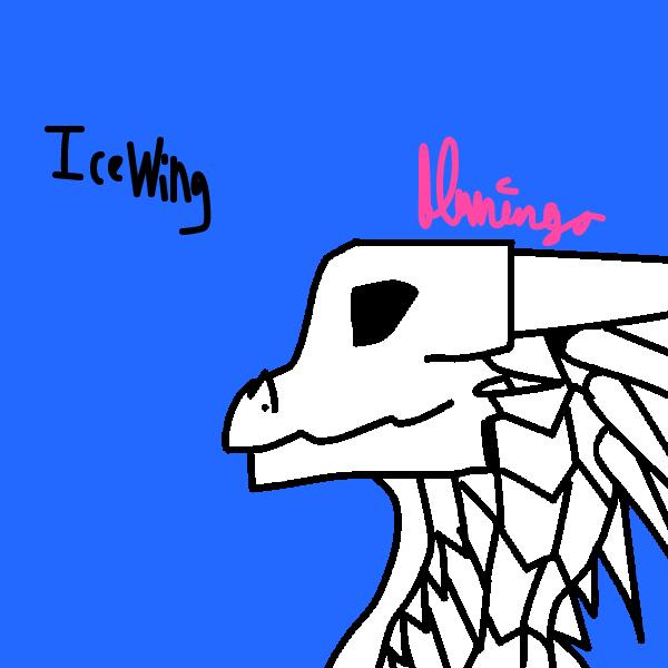 IceWing Base by FlamingGatorGirl
