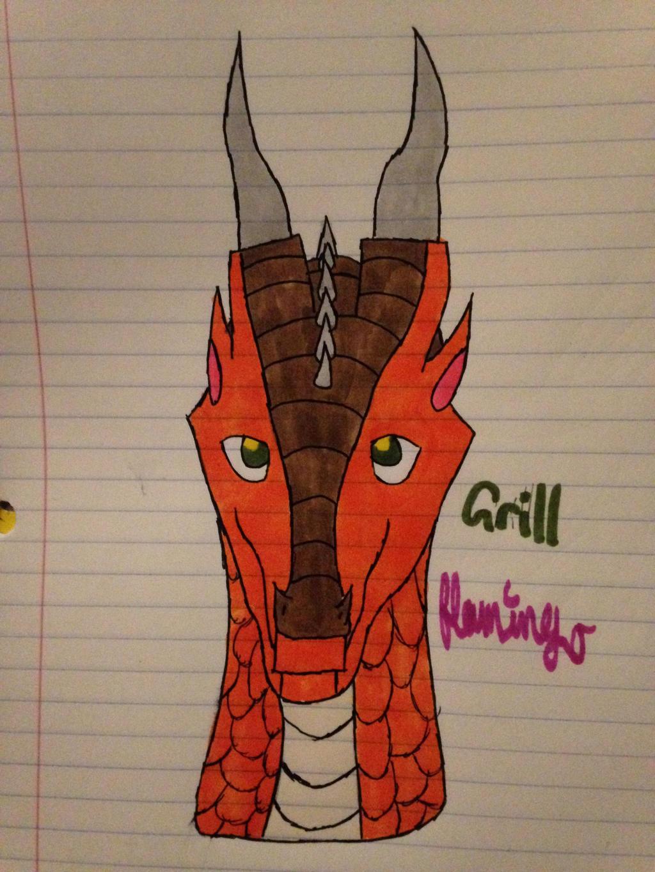 Grill Headshot by FlamingGatorGirl