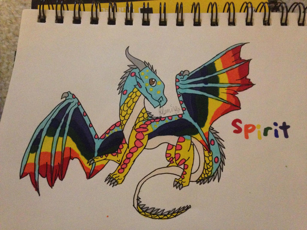 Spirit gift by FlamingGatorGirl