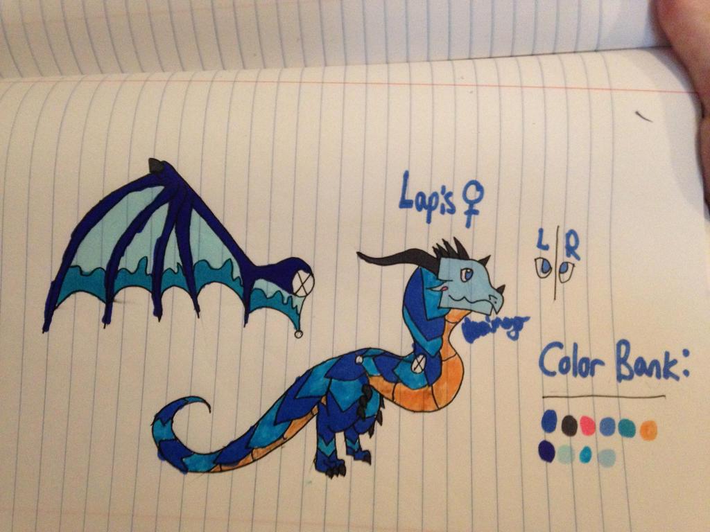 Lapis the Oxal ref by FlamingGatorGirl
