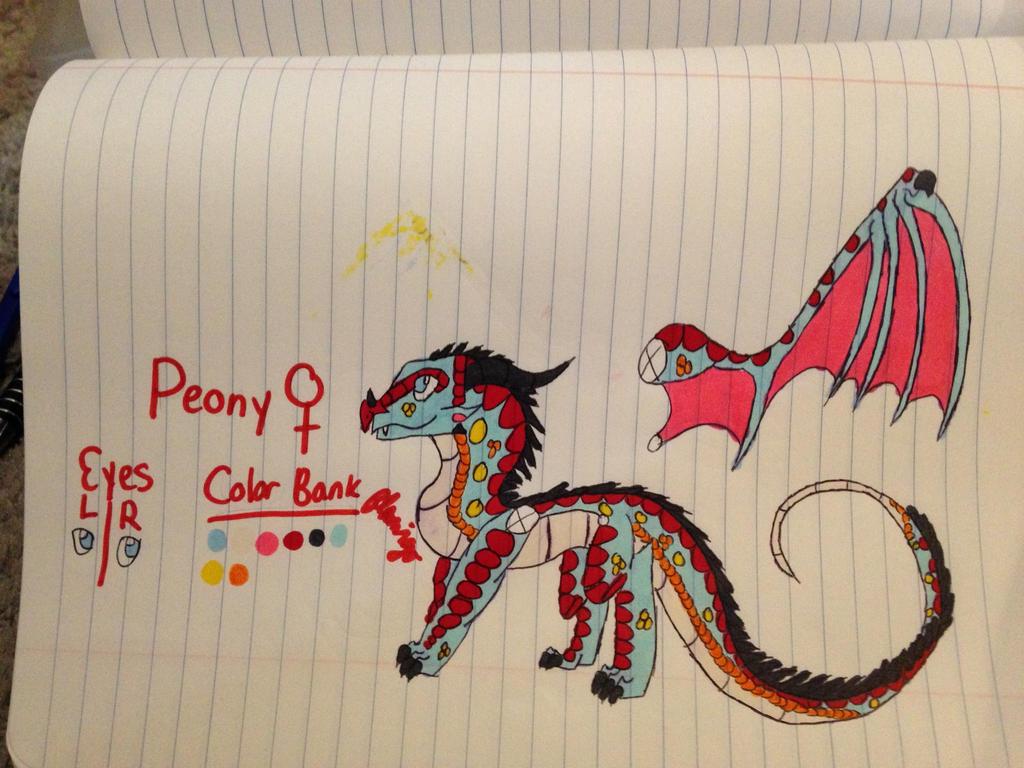 Peony ref by FlamingGatorGirl