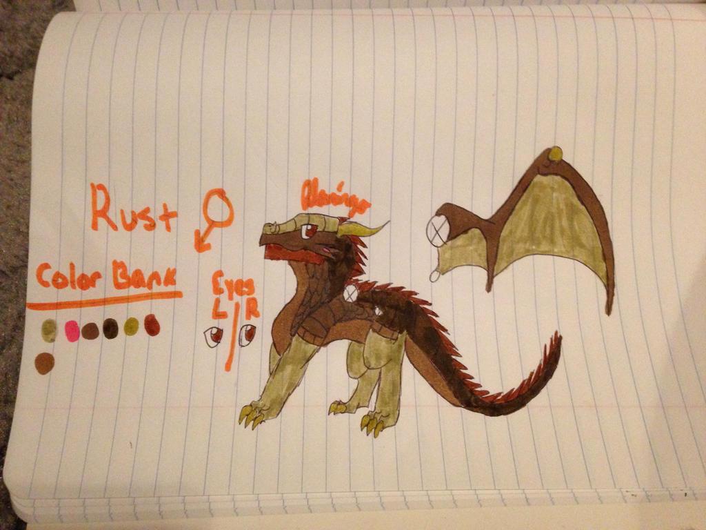 Rust ref by FlamingGatorGirl